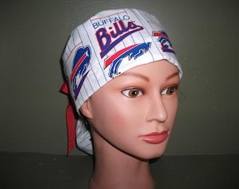NFL Bills ponytail scrub cap