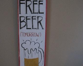 FREE BEER (tomorrow)