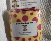 Kids Hot Cold Pack, Boo Boo Heating Packs, Kids Corn Bags, Set of Three