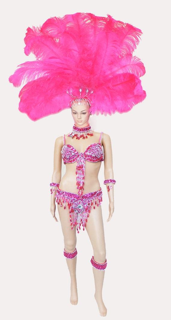 Samba Feather Costume Set