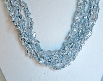Icicle  - Crocheted Necklace