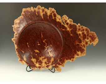 Australian Vasticola Burl Wood Turning Carving bowl