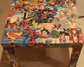 Superman Side Table