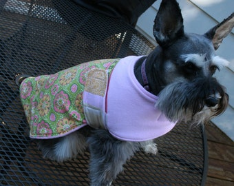 The Bohemian Bow Wow 'The Ashley' dog warmer dog coat medium