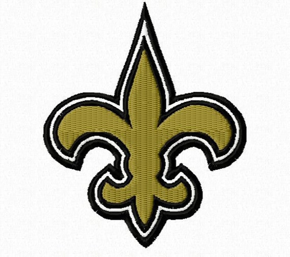 Fleur De Lis Machine Embroidery Design - 4X4 Hoop