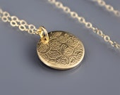 RESERVED FOR SUZANNE: Tiny Rose Garden Necklace
