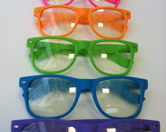 RAVE light show glasses- flat matt