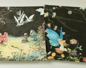 Gift Tags - Fairies playing tags set of 12 FREE Shipping