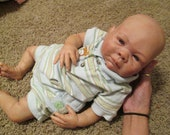 RESERVED LAYAWAY for  Megan Mazerall Reborn Baby Doll Brice