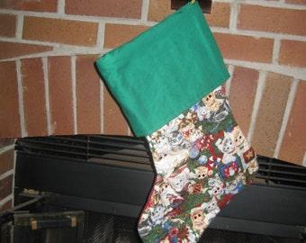 Evil Kitten Christmas Stocking