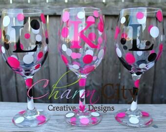 Personalized Wine Glasses Wedding, Bridal, Birthday, Party, Retirement,