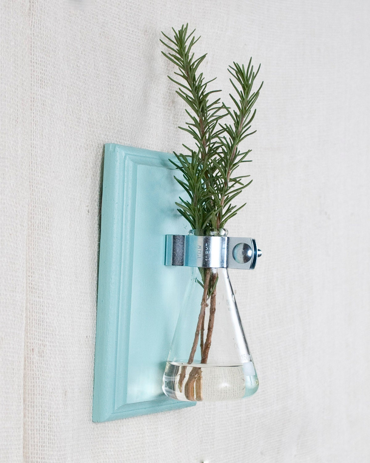 Wall Vase Set Blue Hanging Vase Bud Vase Gift Set by AnotherCup