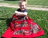 Lightning McQueen Blanket, Disney Blanket, Cars Blanket, boys blanket set, red and black travel blankets, lightweight summer blanket