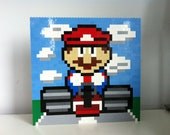 Mario Kart Lego Paintings