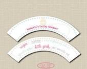 Sugar & Spice Cupcake Wrap Digital File