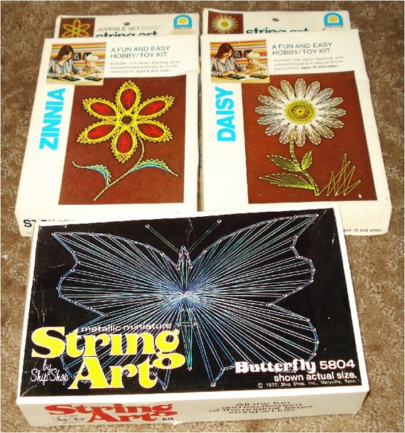 3 1976 String art Kits