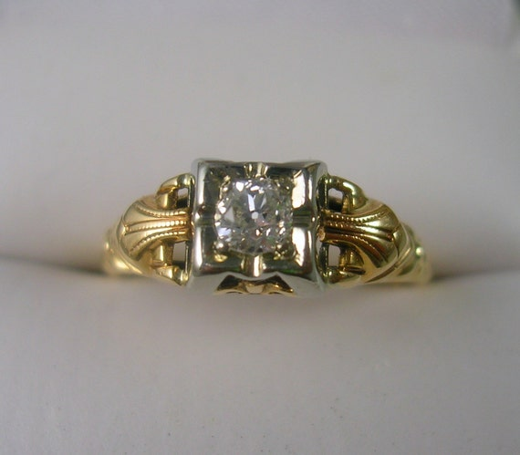 1930s Antique Diamond Engagement Ring White by ...