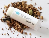 Spiced Chai lip butter, natural vegan gluten-free lip balm, spicy and sweet