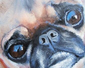 """Brussels Griffon Art Print of an original oil painting - """"What a Face""""/ BG/ 8 x 10/Dog Art"""