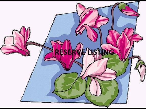 RESERVED Listing for ELISE
