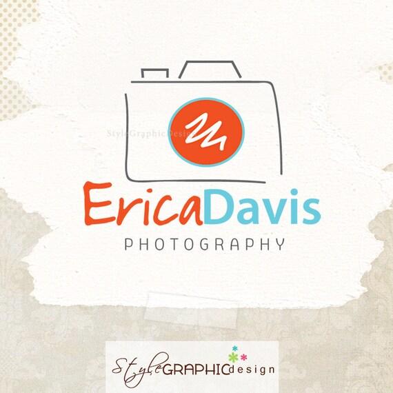 Photographer logo design photography branding ooak camera  logo