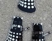 Set of 3 mini Daleks acrylic wall art from Doctor Who Universe