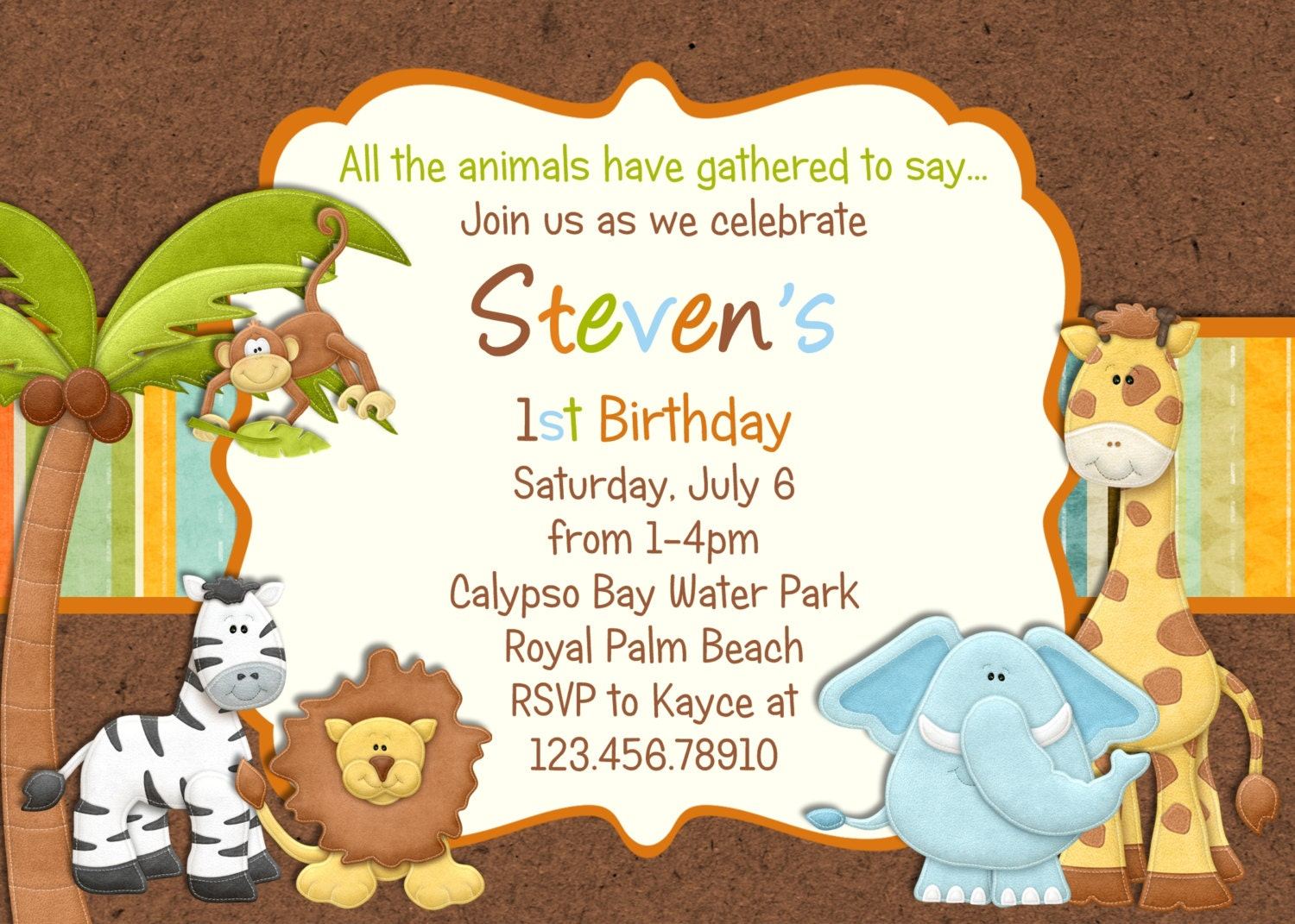 Zoo Birthday Invitations for your inspiration to make invitation template look beautiful