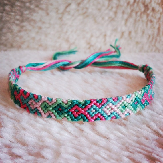 Friendship Bracelet READY TO SHIP Braided By Rebeccaderas