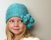 Aubrin - Crochet PATTERN ONLY - Ruffle Hat / Beanie