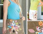 Petal Blossom Bag Pattern by Indigo Junction