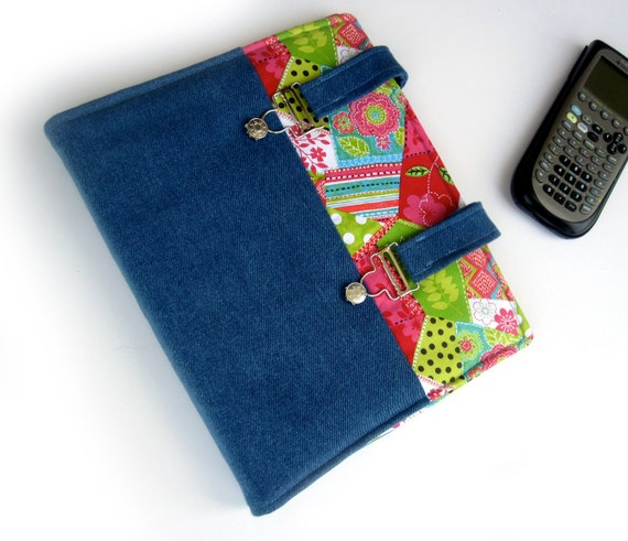 SUSPENSE Fabric Covered Binder 1 Inch 3 Ring Binder By