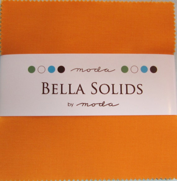 Bella Solids Charm Pack by Moda Fabrics - 1 Charm Pack