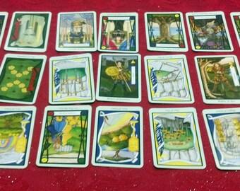The Romany Spread, a 21 Card Tarot Reading