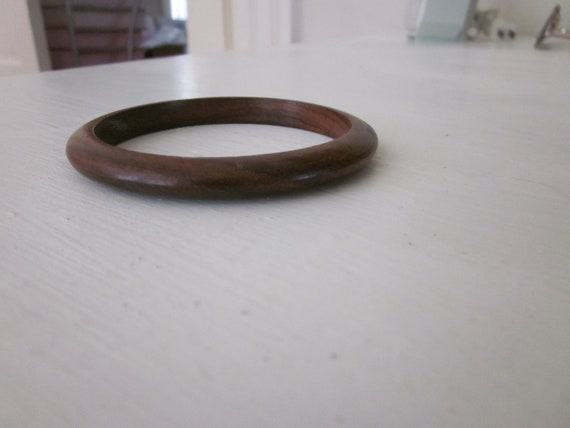 RESERVED Wood Spacer Bangle