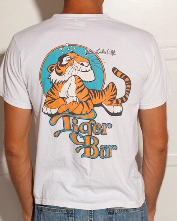 Tiger Bar - June Lake California - Vintage Tshirt - M