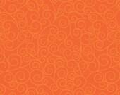 Good Life by Deena Rutter for Riley Blake Designs, Swirls Orange, SKU C2884, 1 yd