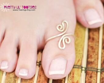 Pretty Paisley Big Toe, Toe Ring