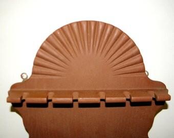 Vintage Wooden Spoon Rack