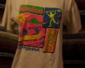 vintage venice beach shirt size M