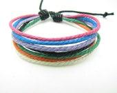 fashion Adjustable  Rope Woven Bracelets mens bracelet cool bracelet jewelry bracelet bangle bracelet  cuff bracelet 1028S