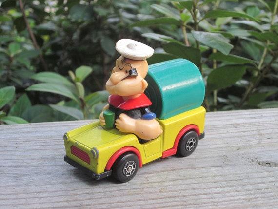 1980 Popeye Matchbox toy