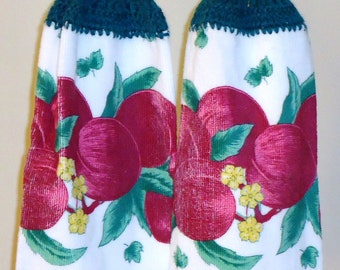 Red Apple Kitchen Towels