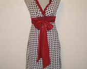 Roll Tide hounds tooth Gameday Dress for tailgating BAMA style