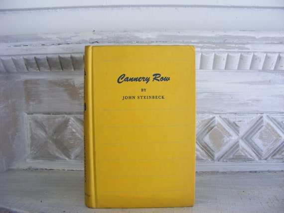 Cannery Row by John Steinbeck 1945 1st edition
