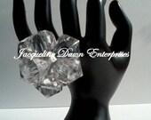 Medium Cluster Mega Bling Ring - Crystal