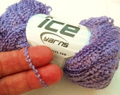 Lavender Yarn - 1 Skein - Lace Weight Acrylic - Great for Baby Items, Lacy Shawl, Scarf or Shrug