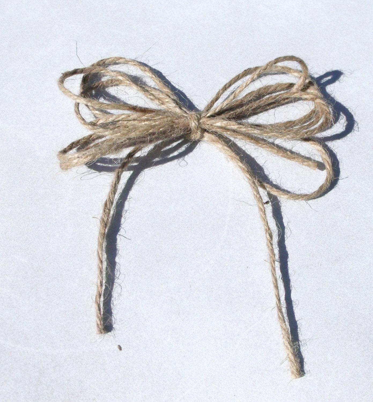 Jute bows free shipping usa seller jute by elmwoodshomestead