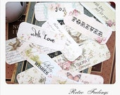Handmade Sentiments and Banners Stickers Shabby Home Sweet Home
