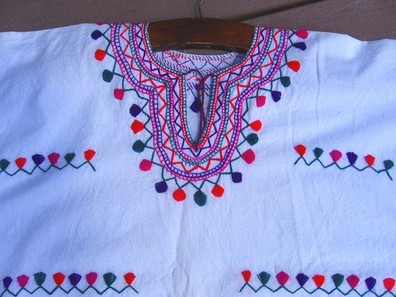 Clearance-Vintage Embroidered Ethnic Top