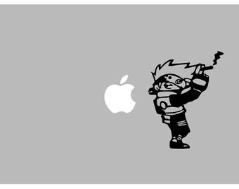"""Kakashi """"Kakushi"""" Naruto decal: For Laptop, Car etc.."""